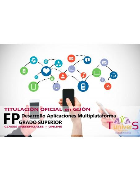 CFGS Desarrollo Aplicaciones Multiplatafoma - Titulación Oficial