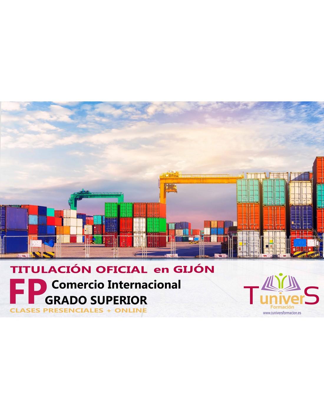Fp Técnico Superior En Comercio Internacional En Gijón