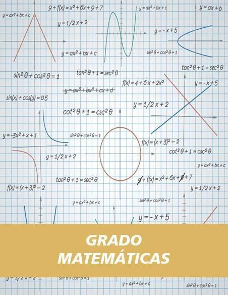 Grado Matemáticas
