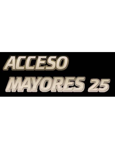 Acceso a Mayores de 25 años