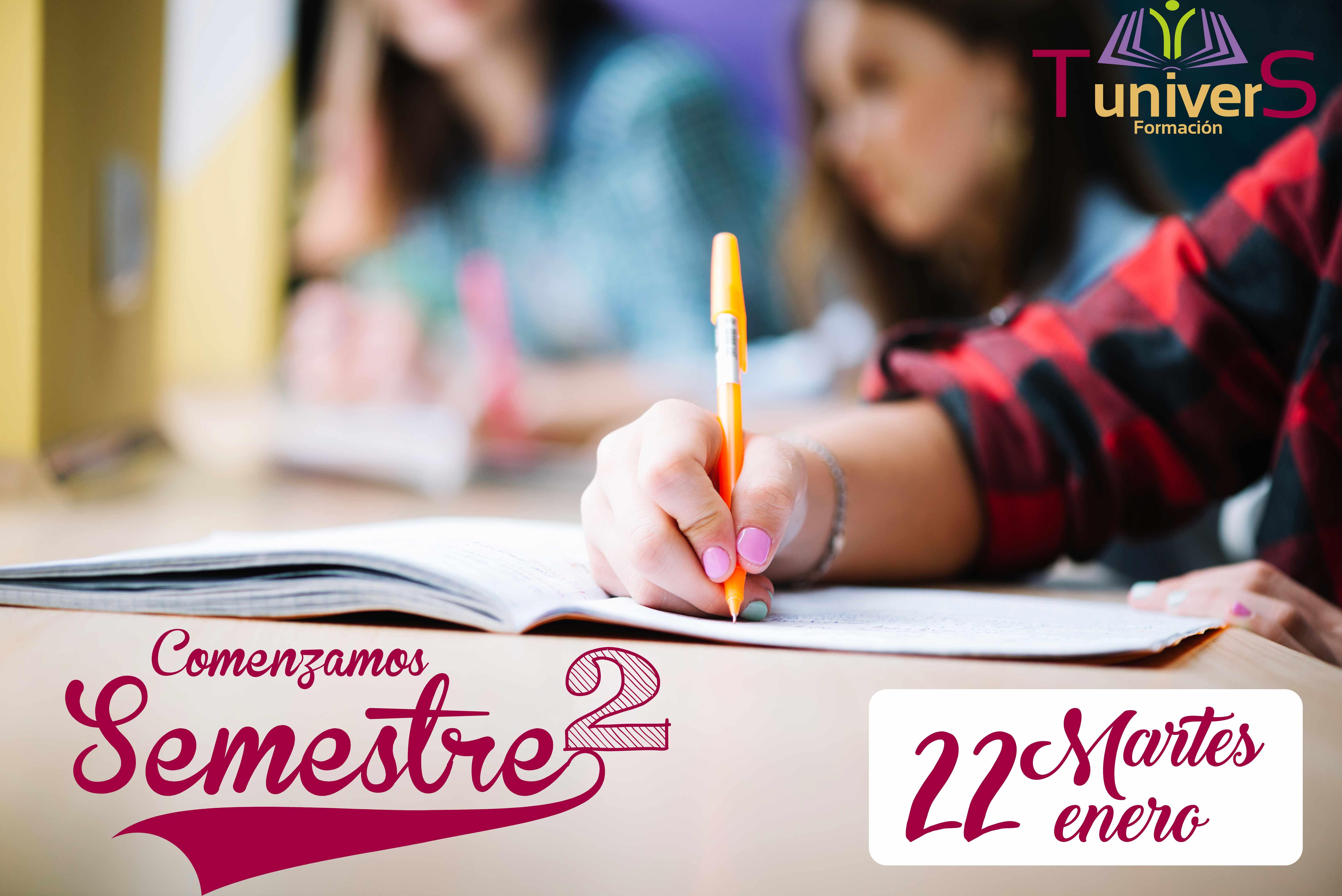 Semestre 2 - Grados Universitarios - Clases particulares